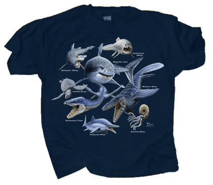 Monsters of the Deep Youth T-shirt