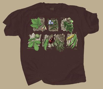 Tree Sampler Adult T-shirt