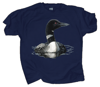 Loon Adult T-shirt