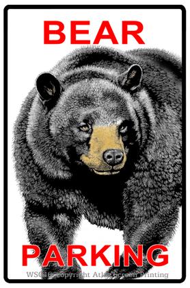 """Bear Parking 2"""" X 3"""" Magnet"""