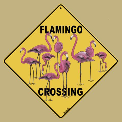 Flamingo Crossing
