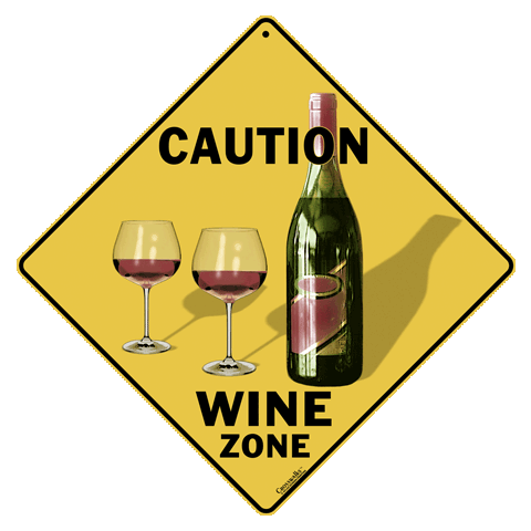 Caution Wine Zone