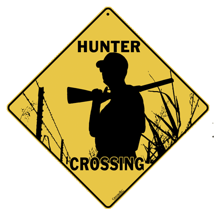 Hunter Crossing Sign