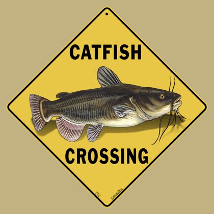 Catfish Crossing Sign
