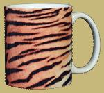 Tiger Stripes Ceramic Mug - Back