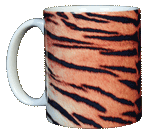 Tiger Stripes Ceramic Mug
