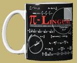 Pi-Lingual Ceramic Mug