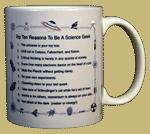 Top Ten Geek Ceramic Mug - Back