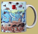 Gross! Ceramic Mug - Back