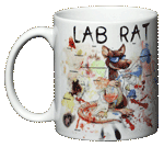 Lab Rat Ceramic Mug