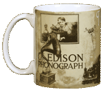 Thomas Edison Ceramic Mug
