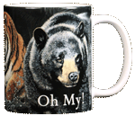 Lions & Tigers & Bears Ceramic Mug - Back