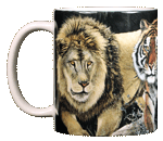 Lions & Tigers & Bears Ceramic Mug