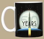 Apollo 11 Rocket 50th Ceramic Mug
