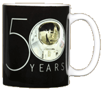 Apollo 11 Astronaut 50th Ceramic Mug - Back