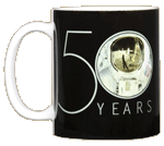 Apollo 11 Astronaut 50th Ceramic Mug