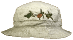 Sea Turtle Trio Embroidered Bucket Cap (LG-XL)