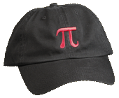 Pi Embroidered Cap