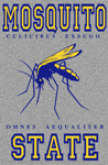 "Mosquito State 2"" X 3"" Magnet"