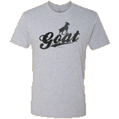 G.O.A.T. Unisex T-shirt - Next Level Heather Gray