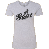 G.O.A.T. Ladies T-shirt