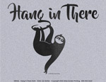 Hang in There Sloth Unisex T-shirt