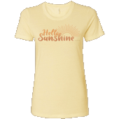 Hello Sunshine Ladies T-shirt