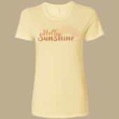 Hello Sunshine Ladies T-shirt