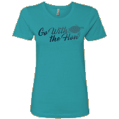 Go With the Flow Ladies T-shirt