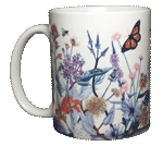 Vintage Wildflowers Ceramic Mug