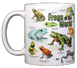 Frogs of the World Ceramic Mug