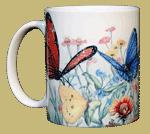 Butterfly Garden Ceramic Mug