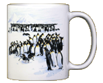 Penguins Ceramic Mug - Back