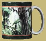 Red Eyed Tree Frog Ceramic Mug