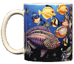Fish Fiesta Ceramic Mug