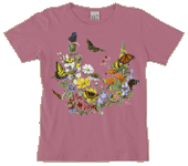Butterflies of NA Ladies Scoop-Neck Tee