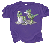 T-Rex Babies Youth T-shirt