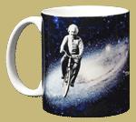 Einstein's Bicycle Ceramic Mug