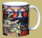 Snakezz Ceramic Mug - Back