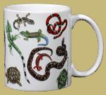 Herp Wrap Ceramic Mug - Back