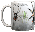 Spiders Ceramic Mug