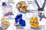 """Minerals of the World 2"""" X 3"""" Magnet"""