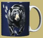 Bear Trax Ceramic Mug - Back