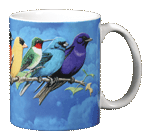 Songbird Spectrum Ceramic Mug - Back