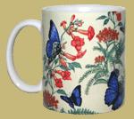 Morpho Garden Ceramic Mug