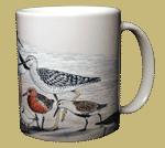 Shorebirds Ceramic Mug - Back