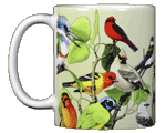 Back Country Birds Ceramic Mug