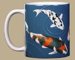 Koi Ceramic Mug