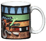 Venomous Snakes Ceramic Mug - Back
