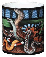 Venomous Snakes Ceramic Mug - Middle